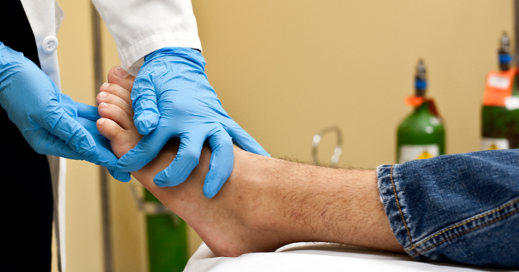 your first podiatrist appointment